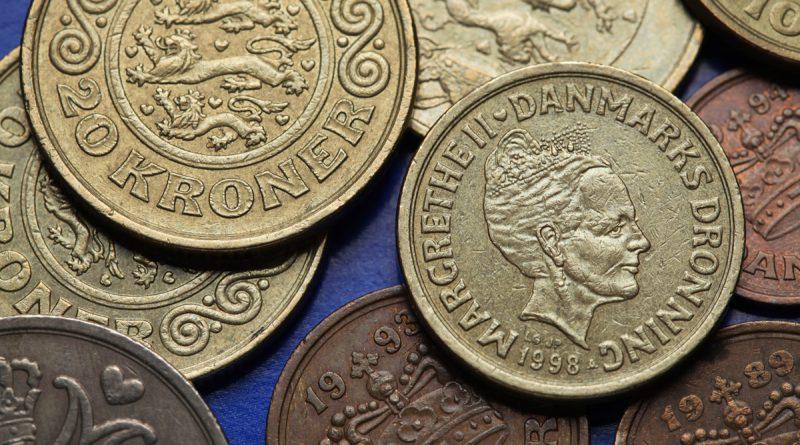 20kr - danske penge