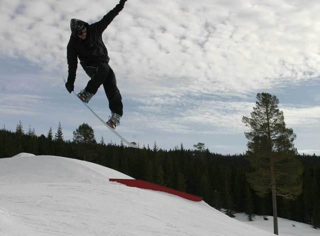 snowboard jakke